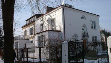 Dom na Górnym Mokotowie